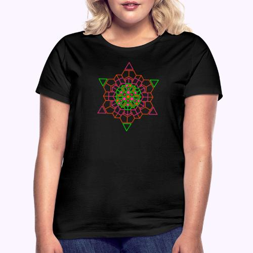Cosmic Crystal Front - Camiseta mujer