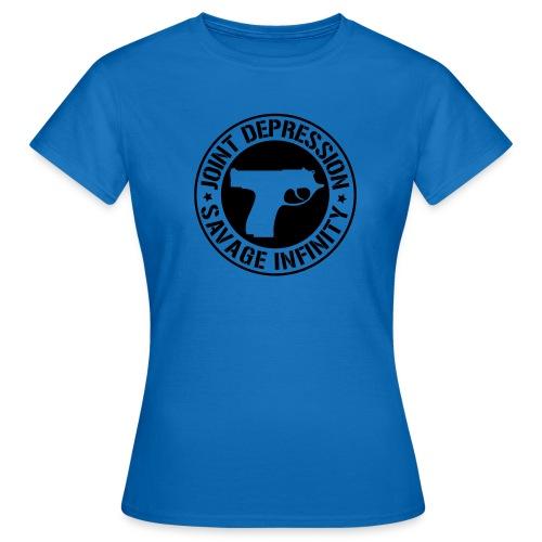 jd logo 11 2008 - Naisten t-paita