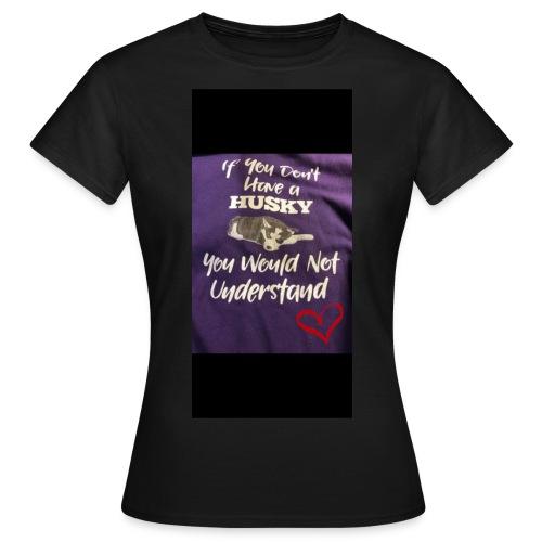 Husky - T-skjorte for kvinner