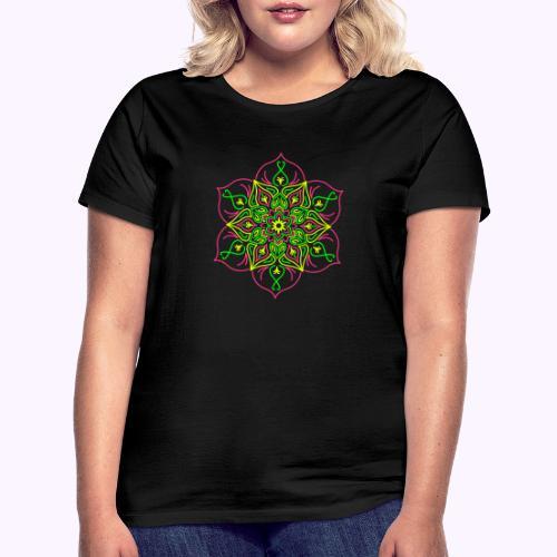 Flor de loto de fuego - Camiseta mujer