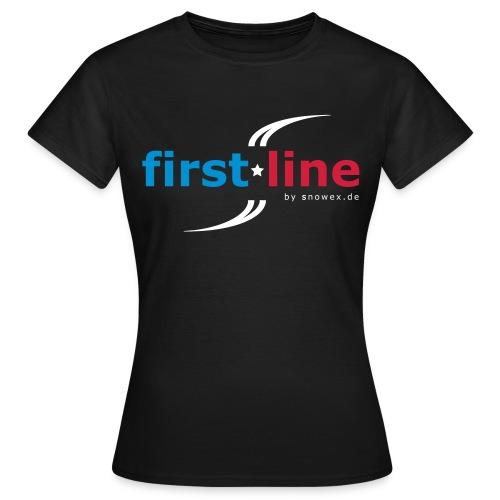 first line - Frauen T-Shirt