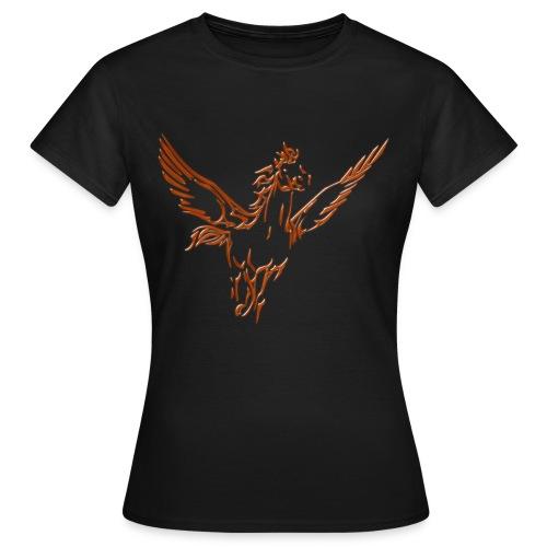 tribal pegase - T-shirt Femme