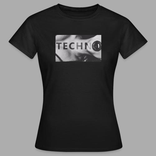 Ravelife Techno Girl - Frauen T-Shirt
