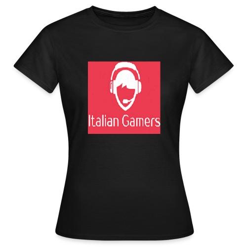 logo italian gamer - Maglietta da donna