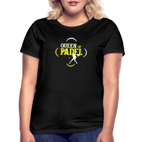 Drottningen av Padel - T-shirt dam