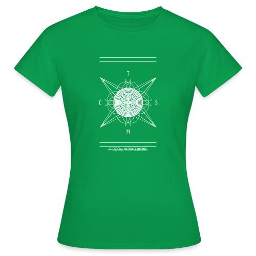 DE PIONEER [WIT] - Vrouwen T-shirt
