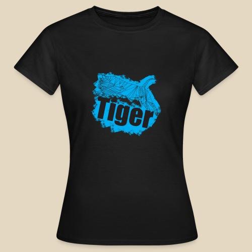 Blue Tiger - T-shirt Femme
