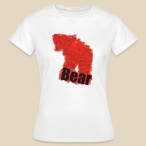Red Bear - T-shirt Femme