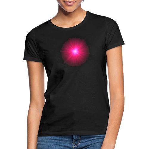 różowe promienie - Koszulka damska