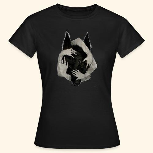 Lobo DANTERS. - Camiseta mujer