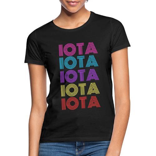 IOTA RETRO - 80s Kryptowährung - Frauen T-Shirt