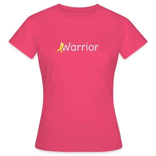 warrior_transparent - Naisten t-paita
