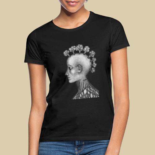 mujer brócoli - Camiseta mujer