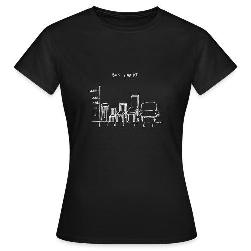 Bar Chairt - Women's T-Shirt