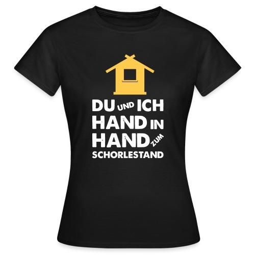Hand in Hand zum Schorlestand / Gruppenshirt - Frauen T-Shirt