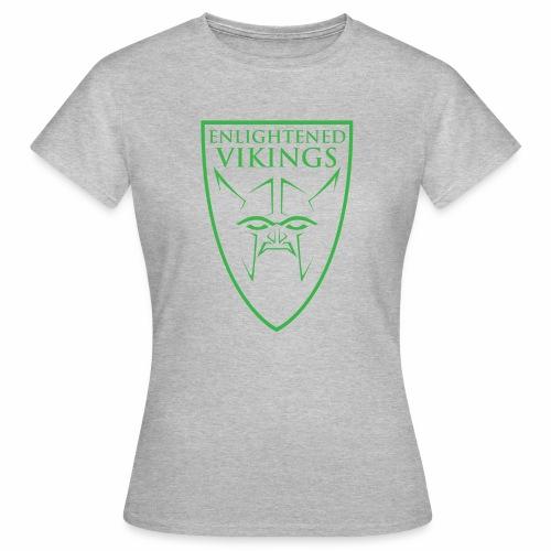 Enlightened Vikings (Org) - T-skjorte for kvinner