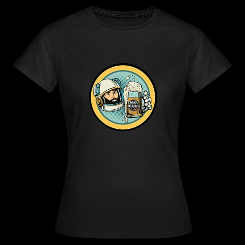 Astronaut With Beer - Women's T-Shirt