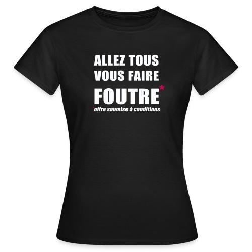 allez png - T-shirt Femme