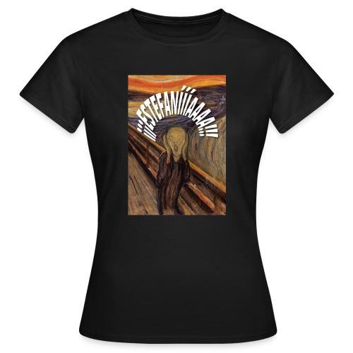 Estefanía El Grito - Camiseta mujer