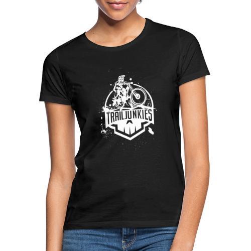 Trailjunkies Mud White - Frauen T-Shirt