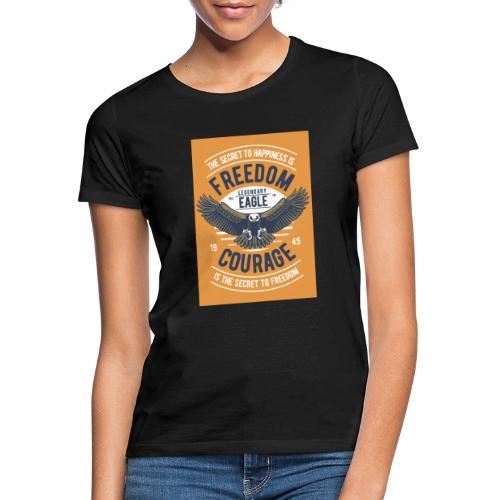 Freedom Eagle - T-shirt Femme