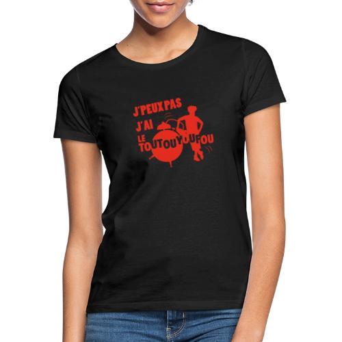 JPEUXPAS ROUGE - T-shirt Femme