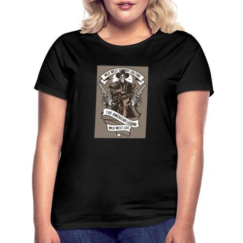 Wild West Cowboy - T-shirt Femme