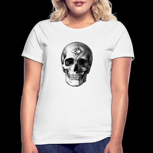 Skull tatoo - T-shirt Femme