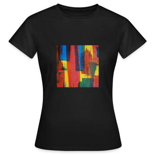 Abstract Primary - Women's T-Shirt