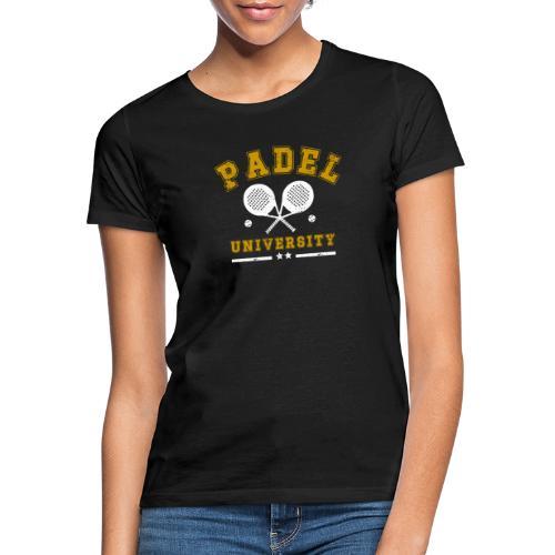 Padel University Vintage - T-shirt dam