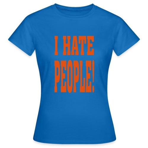ik hou van dieren - Vrouwen T-shirt