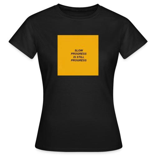 Slow. - Camiseta mujer