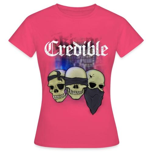 CREDIBLE - Taubstumme - Frauen T-Shirt