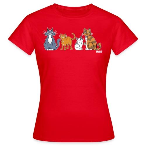 rescueryhmä värillinen - Naisten t-paita