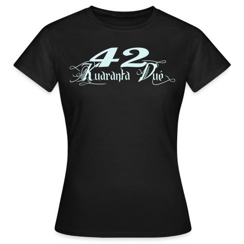 LOGO KD CLASSIK - T-shirt Femme