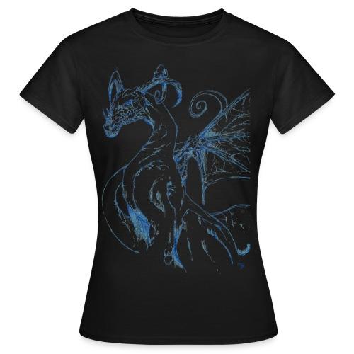 Dragon bleu - T-shirt Femme