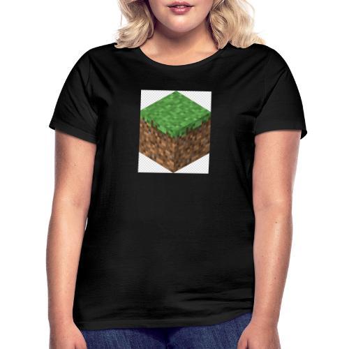 mincreft block - Vrouwen T-shirt