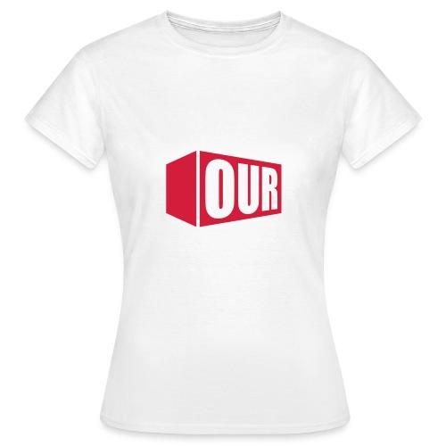 OOR Logo stacked neg - Women's T-Shirt