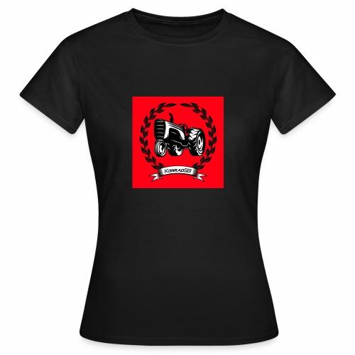 KonradSB czerwony - Koszulka damska