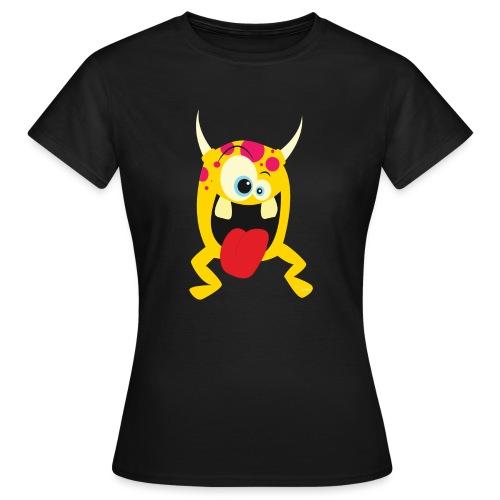 Monster Yellow - Vrouwen T-shirt