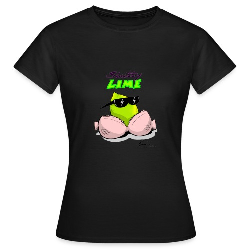 Slutty Lime - Dame-T-shirt