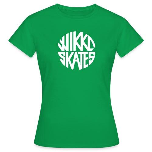 wikkoskates logo vektori - Women's T-Shirt
