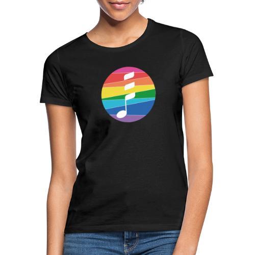 Rainbow Note - Frauen T-Shirt