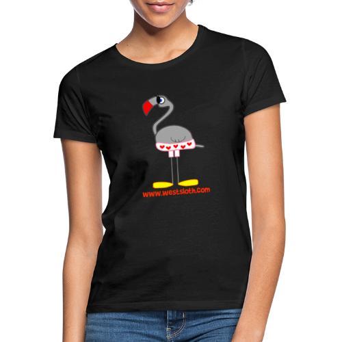 Swim Suit Flamingo - Naisten t-paita