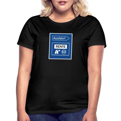 Geschenkidee Rente - Frauen T-Shirt