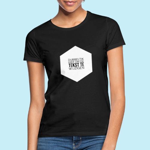 dubbeltik hier om tekst te wijzigen. - T-shirt Femme