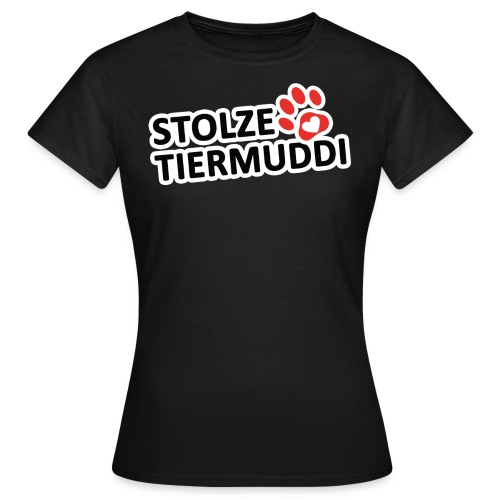 stolzetiermuddi png - Frauen T-Shirt