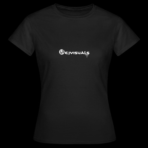 - EJVisuals Logo - Vrouwen T-shirt