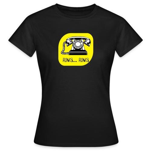 ring ring telefoon - Vrouwen T-shirt