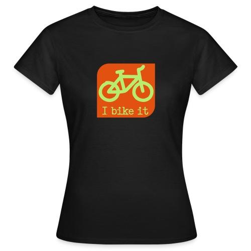 fiets logo - Vrouwen T-shirt